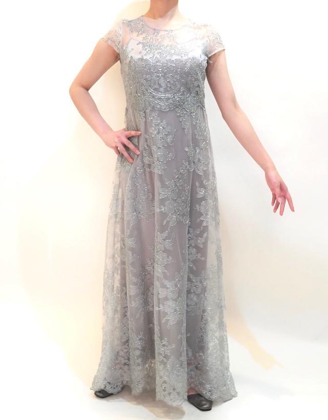 M&V for mother L48a 結婚式の母親ドレス・フォーマルドレスのレンタル