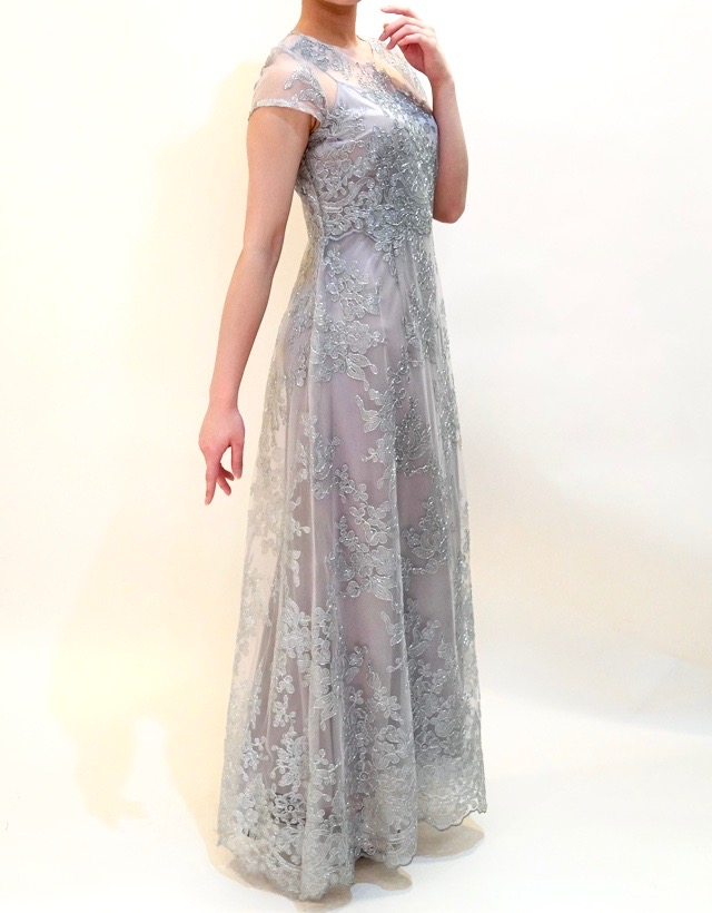 M&V for mother L48o 結婚式の母親ドレス・フォーマルドレスのレンタル