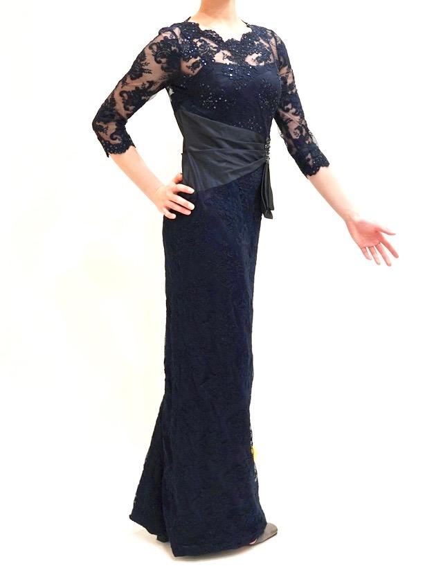 L53o | 結婚式の母親ドレス M&V for mother