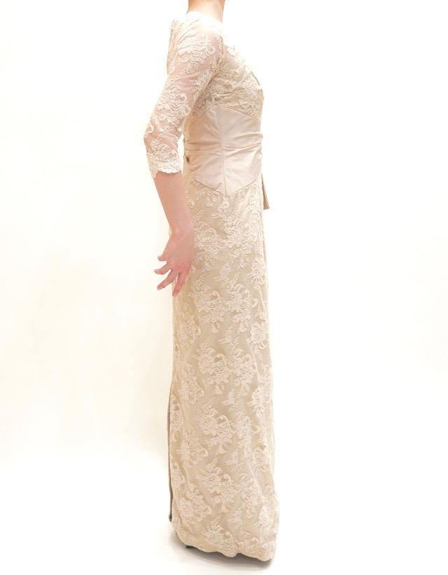 M&V for mother L54d 結婚式の母親ドレス・フォーマルドレスのレンタル