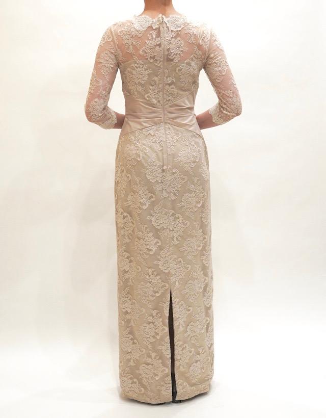M&V for mother L54f 結婚式の母親ドレス・フォーマルドレスのレンタル