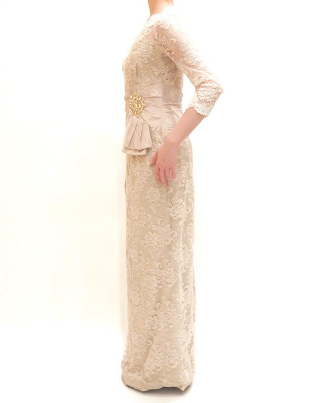 M&V for mother L54g 結婚式の母親ドレス・フォーマルドレスのレンタル