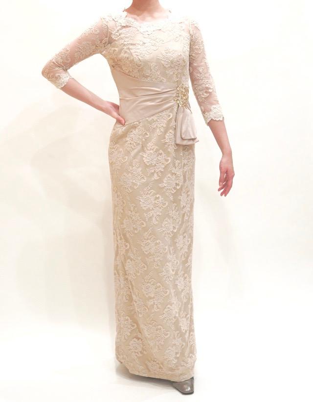 L54h | 結婚式の母親ドレス M&V for mother