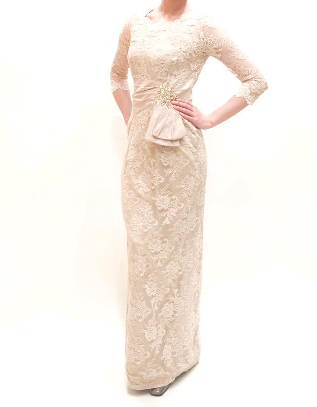 M&V for mother L54l 結婚式の母親ドレス・フォーマルドレスのレンタル