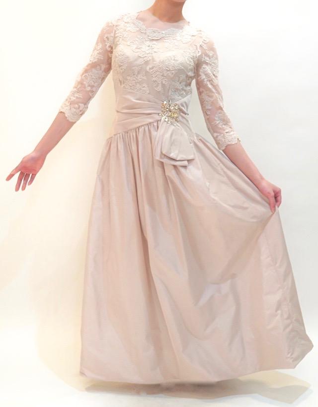 M&V for mother L55i 結婚式の母親ドレス・フォーマルドレスのレンタル