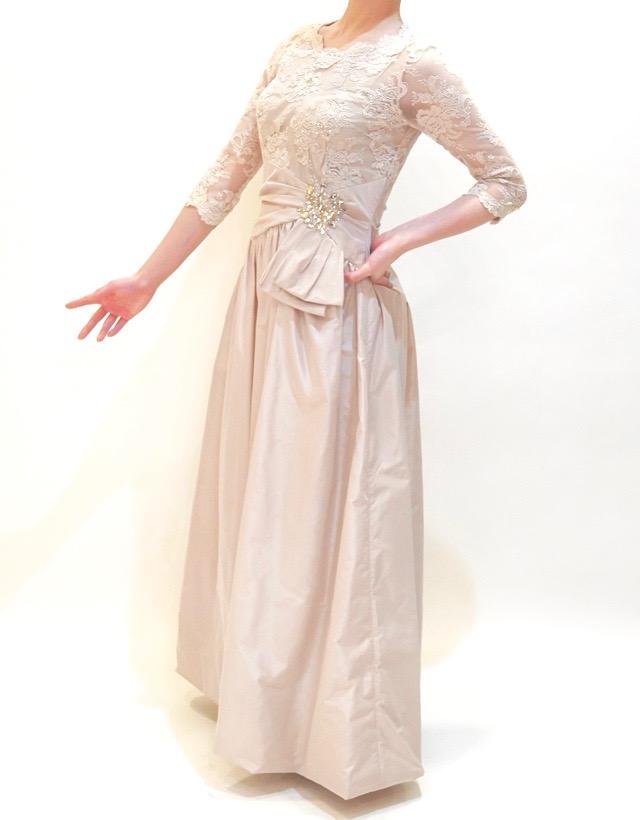 M&V for mother L55n 結婚式の母親ドレス・フォーマルドレスのレンタル