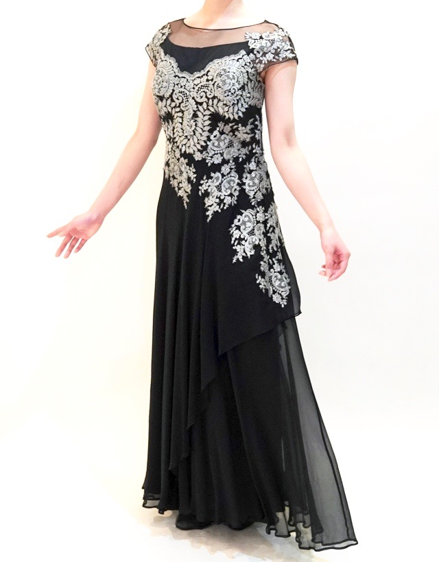 L57l | 結婚式の母親ドレス M&V for mother
