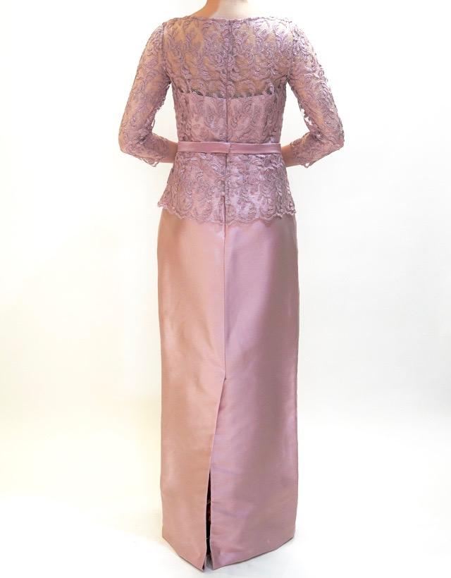 M&V for mother L63e 結婚式の母親ドレス・フォーマルドレスのレンタル