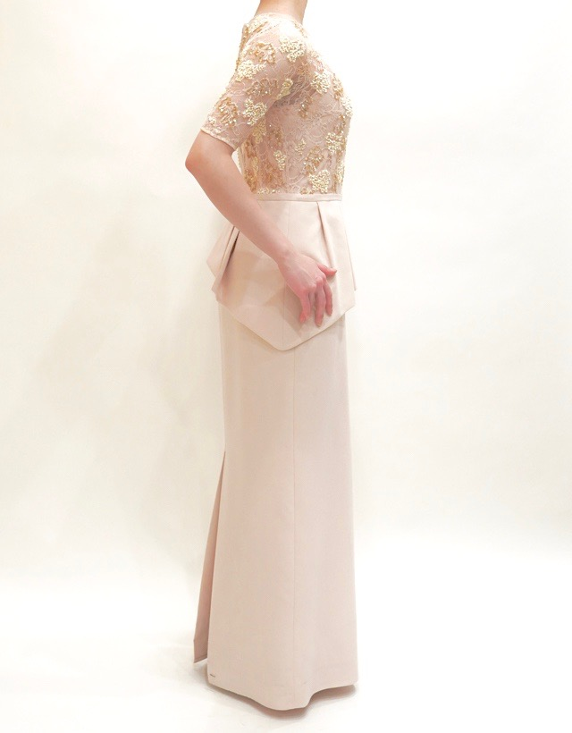 M&V for mother L65e 結婚式の母親ドレス・フォーマルドレスのレンタル