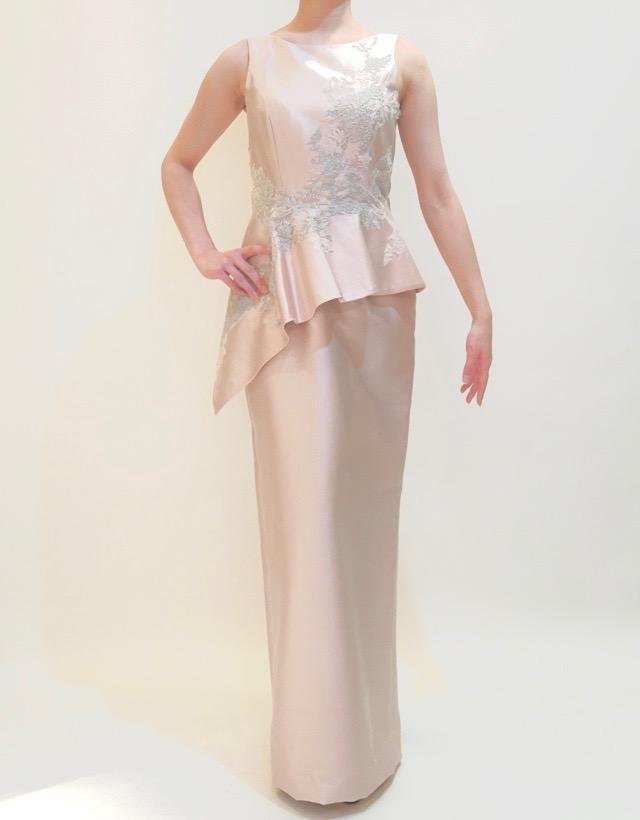 M&V for mother L67a 結婚式の母親ドレス・フォーマルドレスのレンタル