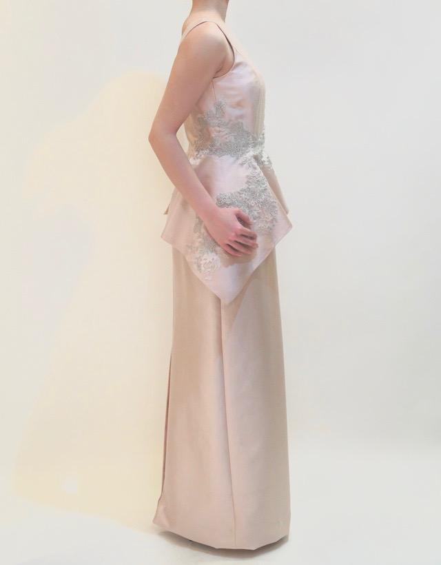 M&V for mother L67c 結婚式の母親ドレス・フォーマルドレスのレンタル