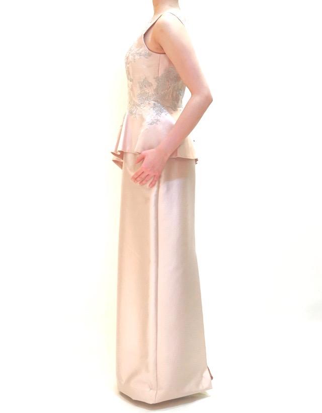 M&V for mother L67f 結婚式の母親ドレス・フォーマルドレスのレンタル