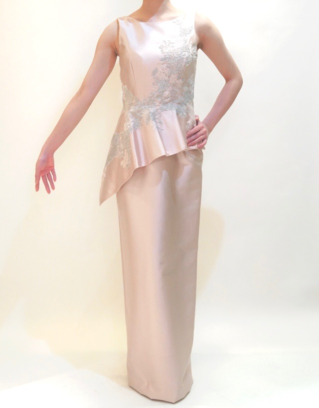 M&V for mother L67g 結婚式の母親ドレス・フォーマルドレスのレンタル
