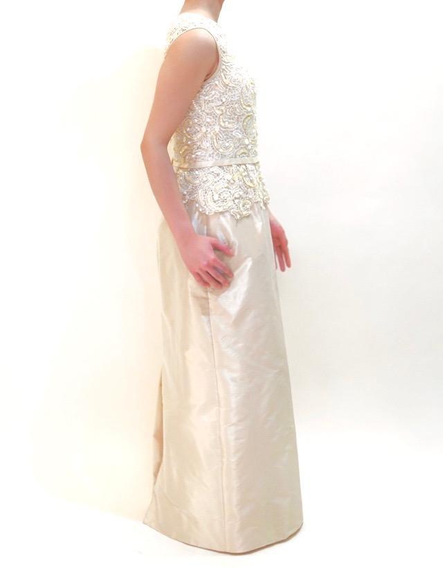 M&V for mother L68c 結婚式の母親ドレス・フォーマルドレスのレンタル