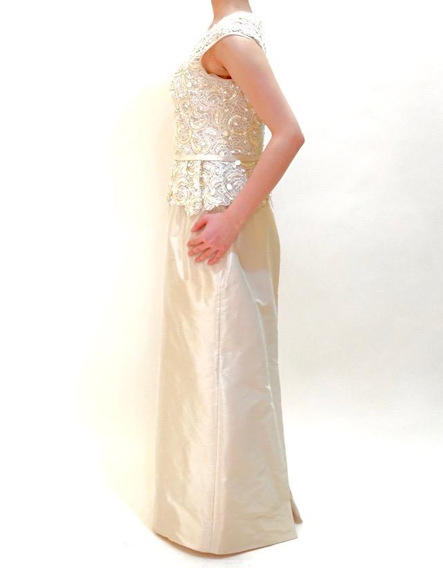 M&V for mother L68f 結婚式の母親ドレス・フォーマルドレスのレンタル