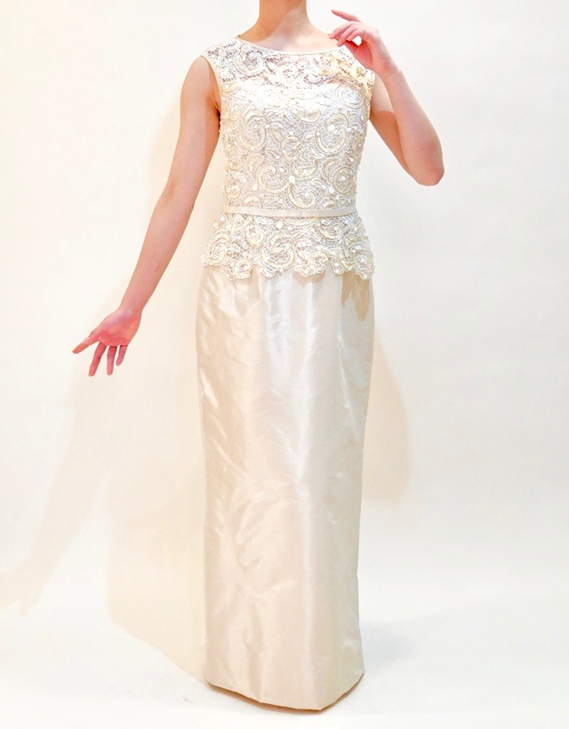 M&V for mother L68h 結婚式の母親ドレス・フォーマルドレスのレンタル
