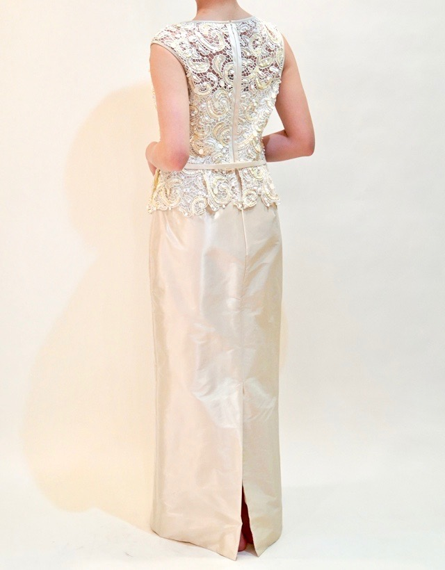 M&V for mother L68o 結婚式の母親ドレス・フォーマルドレスのレンタル