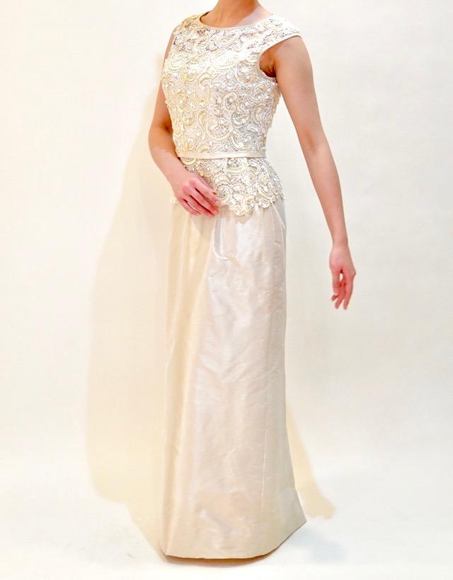 M&V for mother L68p 結婚式の母親ドレス・フォーマルドレスのレンタル
