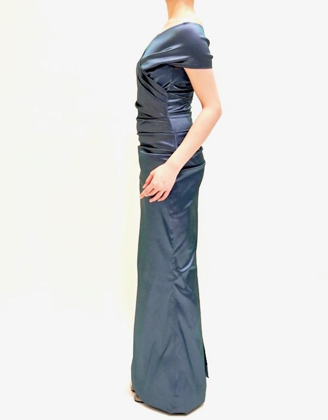 M&V for mother L84g 結婚式の母親ドレス・フォーマルドレスのレンタル