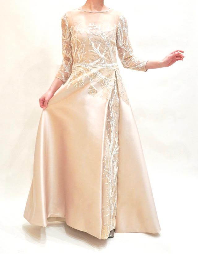 M&V for mother L89g 結婚式の母親ドレス・フォーマルドレスのレンタル