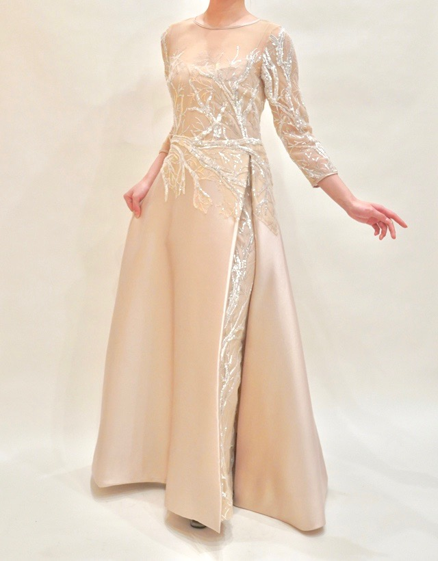 M&V for mother L89i 結婚式の母親ドレス・フォーマルドレスのレンタル