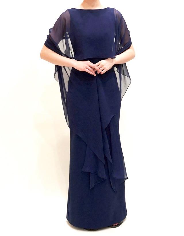 結婚式の新郎の母の衣装 ザ・ガーデンオリエンタル・大阪 フォーマルドレスL-90  結婚式の母親ドレス M&V for mother