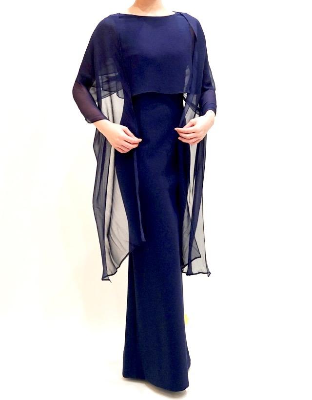 M&V for mother L90z 結婚式の母親ドレス・フォーマルドレスのレンタル