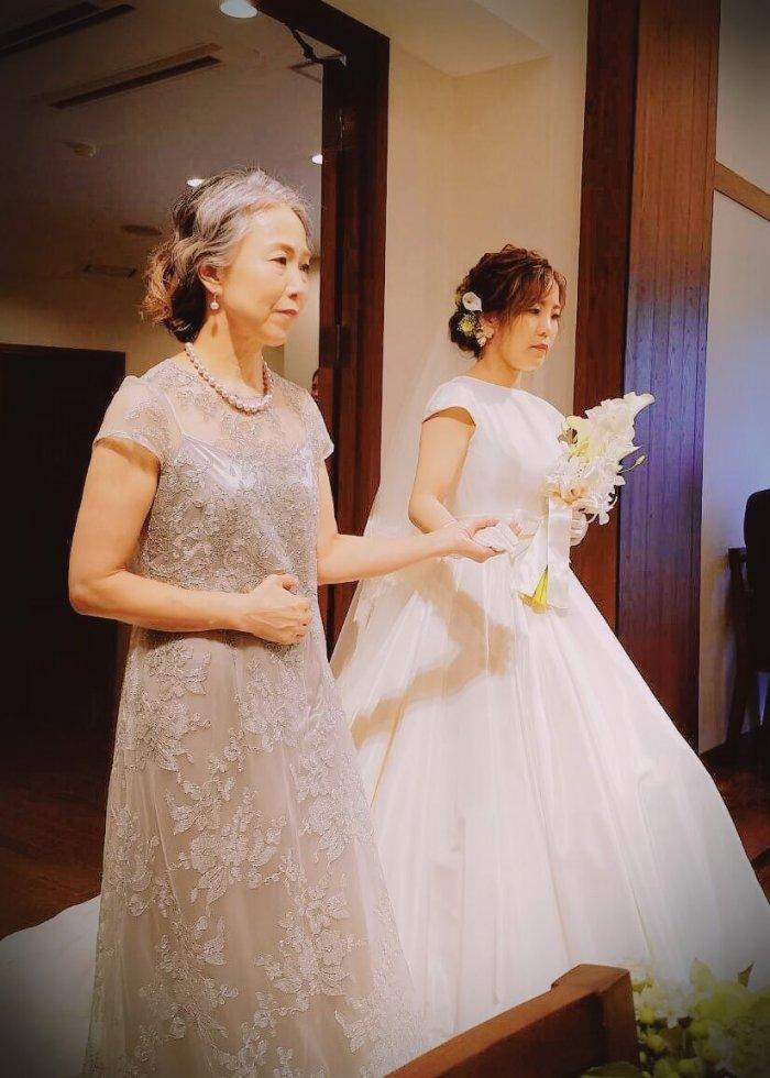 | 結婚式の母親ドレス M&V for mother