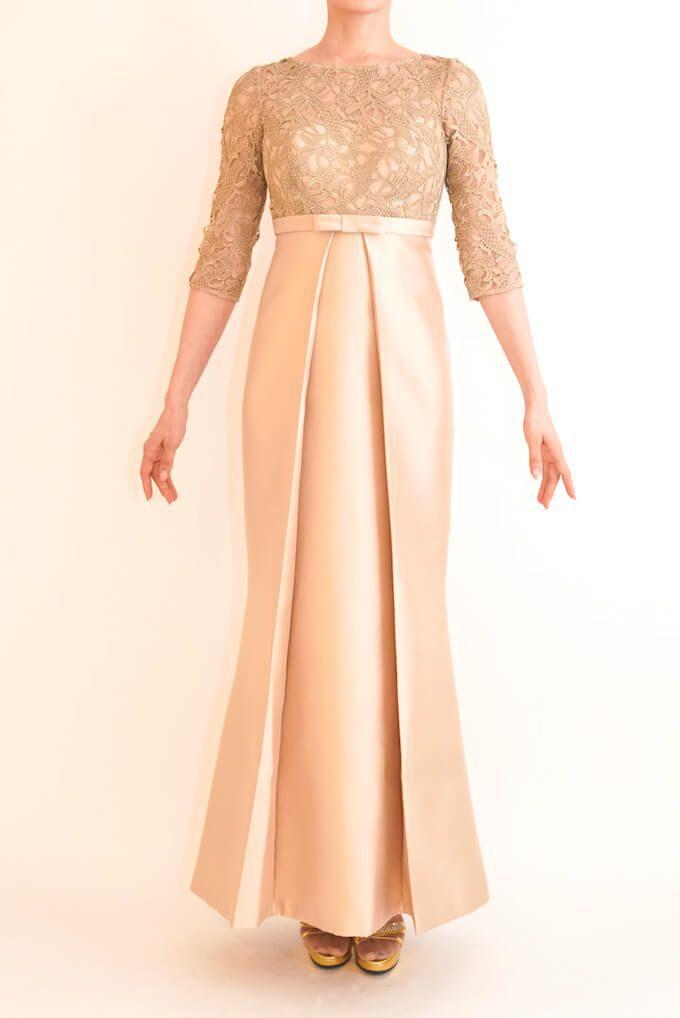 M&V for mother l101c 結婚式の母親ドレス・フォーマルドレスのレンタル