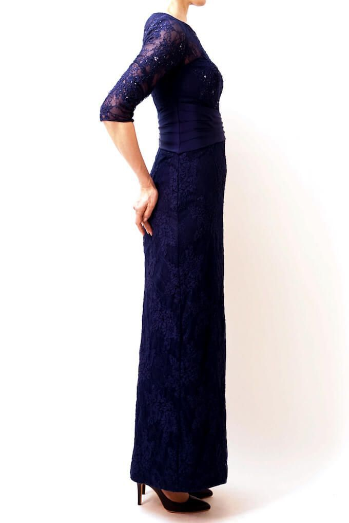 M&V for mother l103d 結婚式の母親ドレス・フォーマルドレスのレンタル