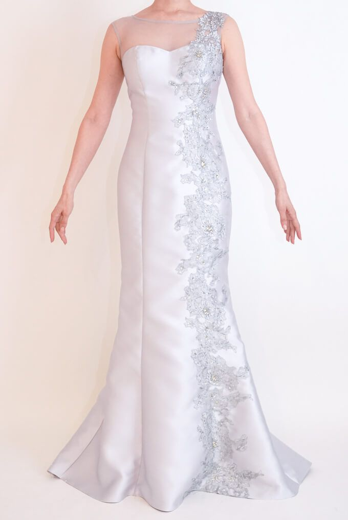 M&V for mother l83a 結婚式の母親ドレス・フォーマルドレスのレンタル