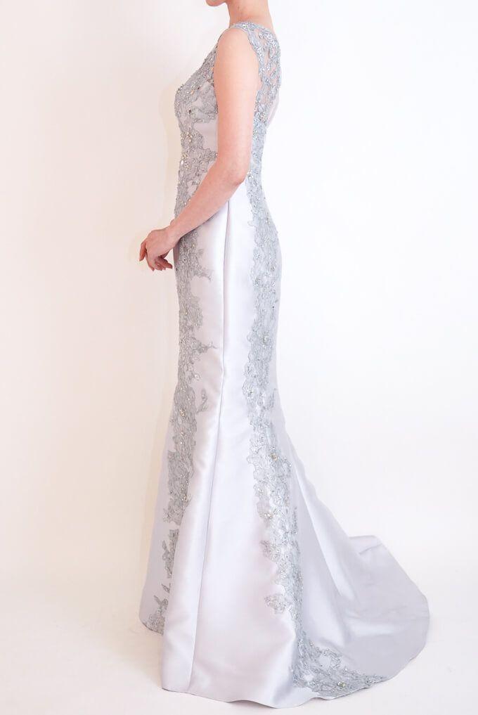 M&V for mother l83b 結婚式の母親ドレス・フォーマルドレスのレンタル