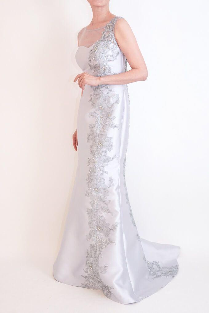 M&V for mother l83e 結婚式の母親ドレス・フォーマルドレスのレンタル