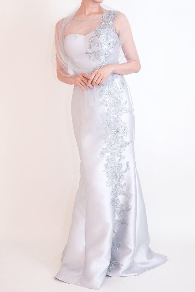 M&V for mother l83f 結婚式の母親ドレス・フォーマルドレスのレンタル